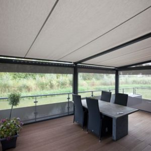 Terrasoverkapping pergoline met screen